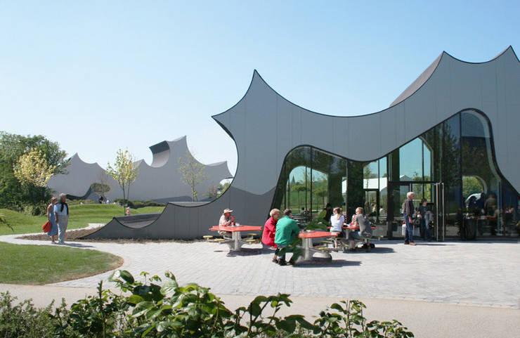 DANFOSS UNIVERSE - Extension (Phase II) Food Factory and Curiosity Center, Nordborg, Denmark:  Schulen von J.MAYER.H