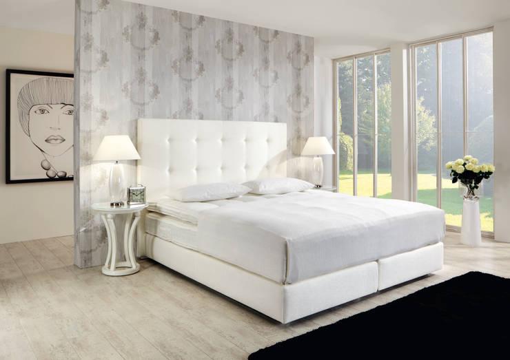 Polsterbetten:  Schlafzimmer von Finkeldei Polstermöbel GmbH