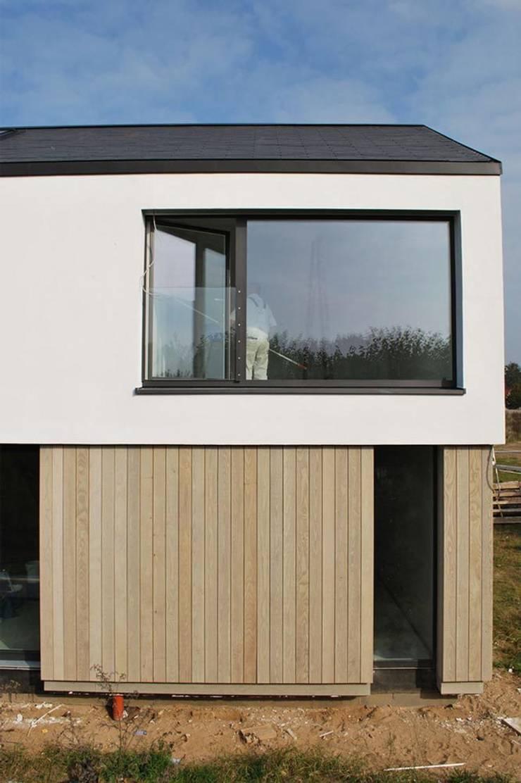 Fassadenansicht:  Einfamilienhaus von Sieckmann Walther Architekten,