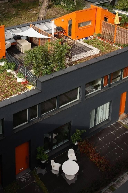 Wohnbebauung Q21:  Häuser von Dipl.-Ing.Architektin BDA