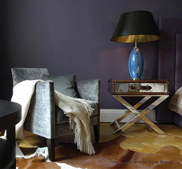 Wohnung Winterhude Hamburg:  Wohnzimmer von Andras Koos Architectural Interior Design