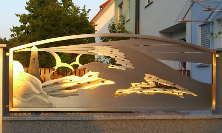 Сад  в . Автор – Edelstahl Atelier Crouse - individuelle Gartentore