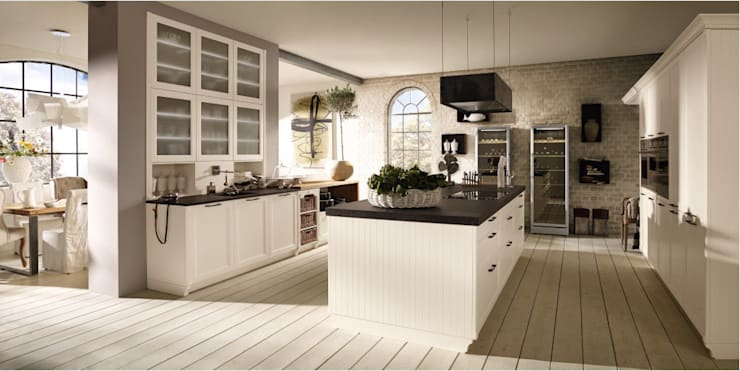 Kitchen by ALNO AG, Rustic