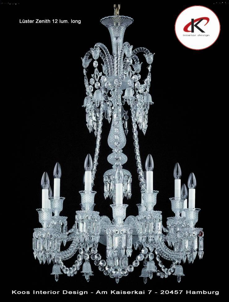 Leuchten und Lichtdesign:  Wohnzimmer von Andras Koos Architectural Interior Design