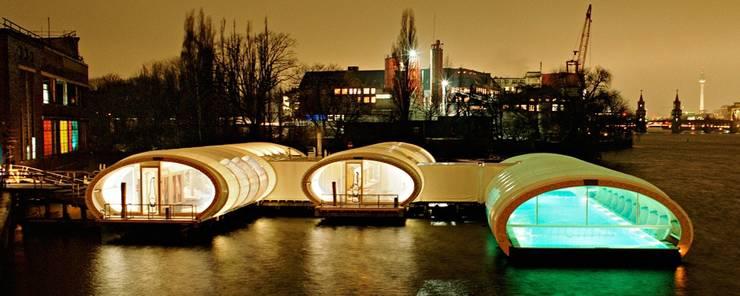 Winterbadeschiff:  Yachten & Jets von Wilk-Salinas Architekten BDA