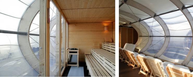 Yates y jets de estilo moderno de Wilk-Salinas Architekten BDA