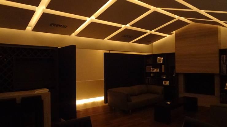 Sala Salones modernos de Arquifacto Moderno