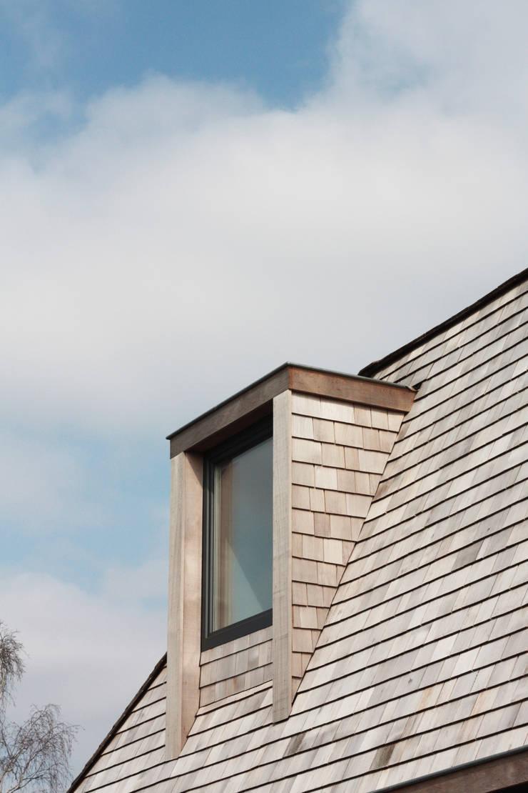 villa aan het spaarne:  Huizen door derksen|windt architecten, Landelijk