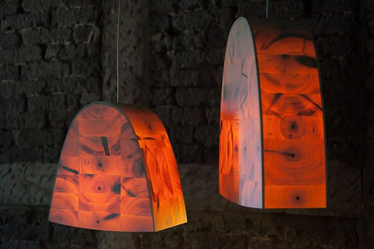 modern Living room by Christian Masche Holz Design Skulptur