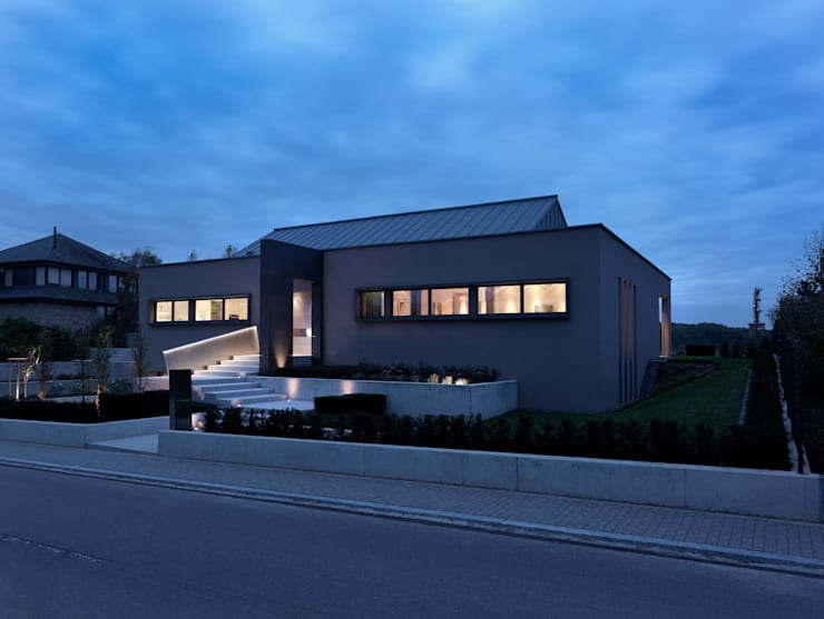 Hassel | Luxemburg: moderne Häuser von LEICHT Küchen AG