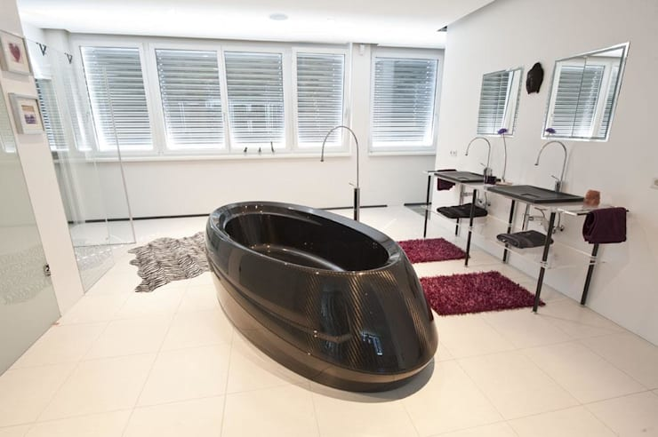 Spas modernos por Design by Torsten Müller