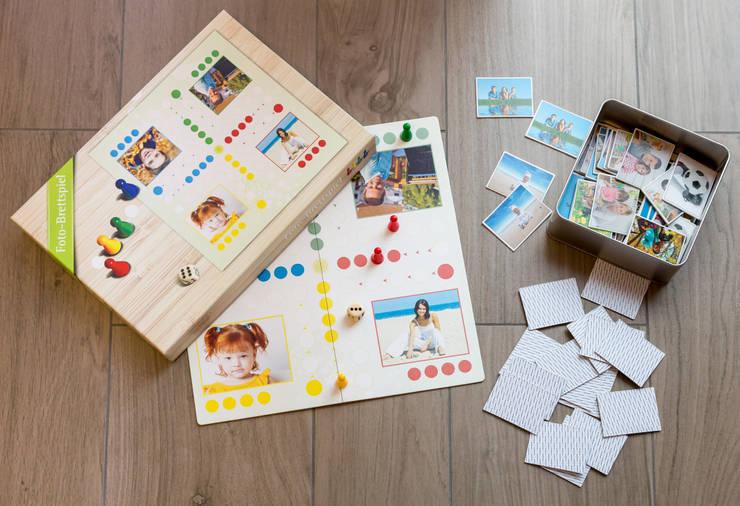 Foto-Brettspiel und Foto-Memo:  Kinderzimmer von fotokasten GmbH