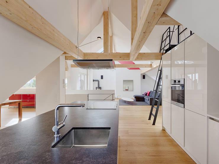moderne Keuken door PARTNER Aktiengesellschaft