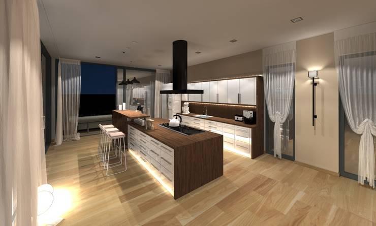 visualisierung küche:  Küche von innenarchitektur s. kaiser,
