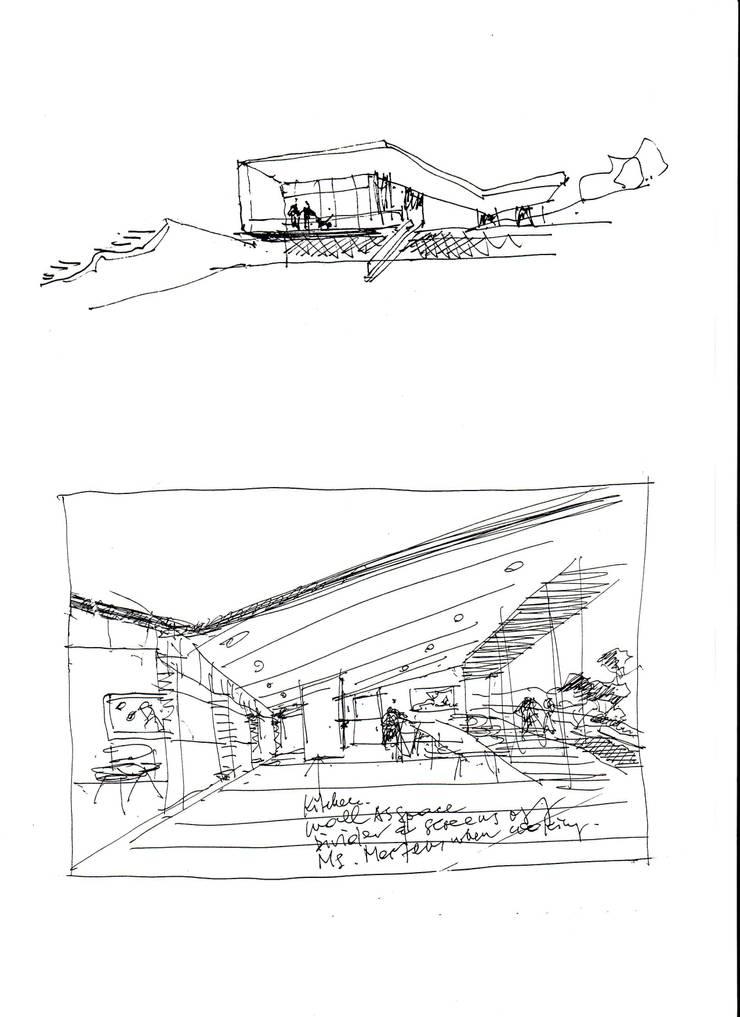 Casas de estilo  por KAZANSKI . KEILHACKER  URBAN DESIGN . ARCHITEKTUR