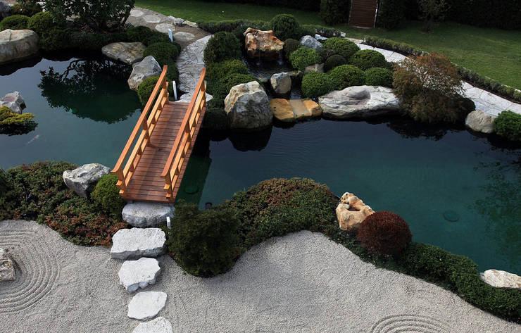 Japangarten in der Nähe von Leipzig:  Garten von Kirchner Garten + Teich GmbH