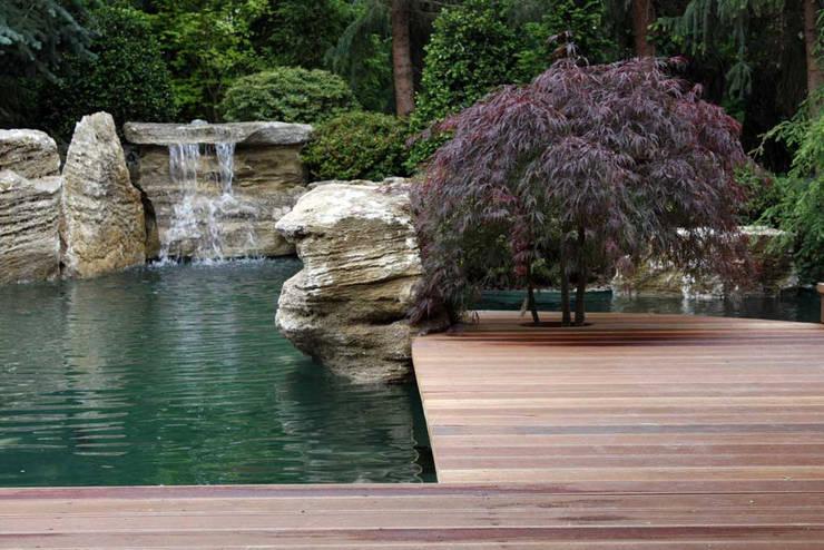 Jardins  por Kirchner Garten + Teich GmbH