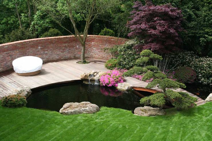 ديكورات حدائق منزلية