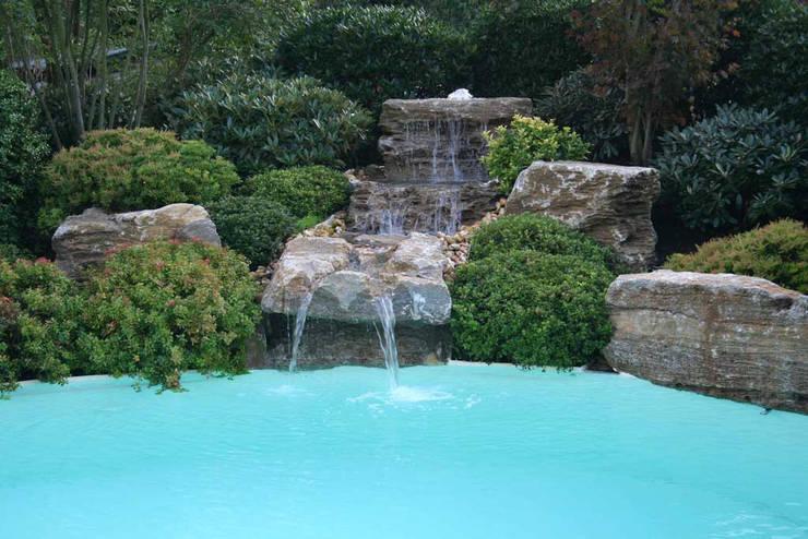 Natural-Pool in Braunschweig:  Garten von Kirchner Garten + Teich GmbH
