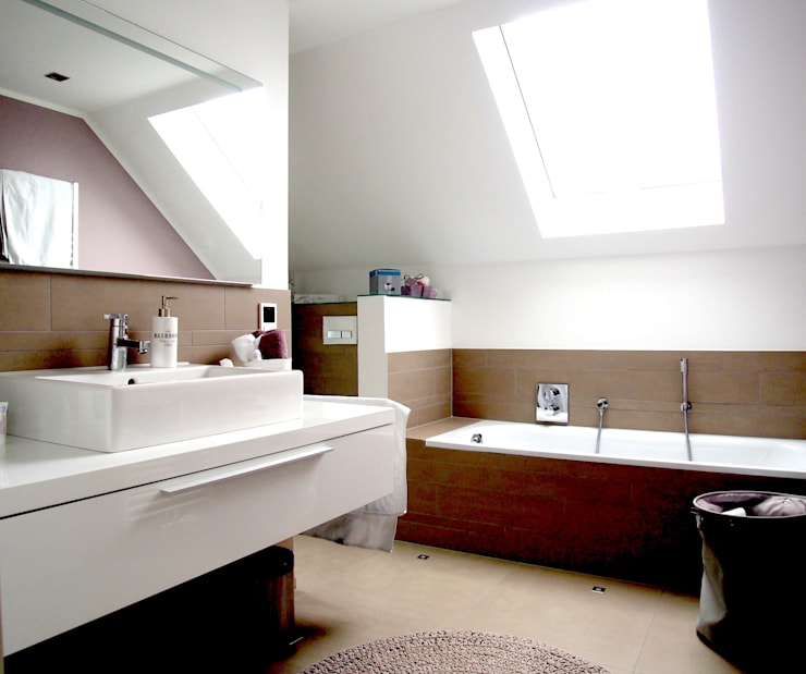 Casas de banho  por Einrichtungsideen