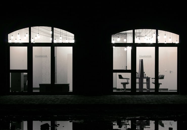 Haarwerk:  Geschäftsräume & Stores von Hackenbroich Architekten