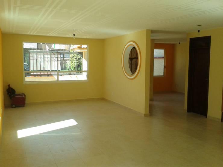 Interior: Casas de estilo  por DD Arquitectos