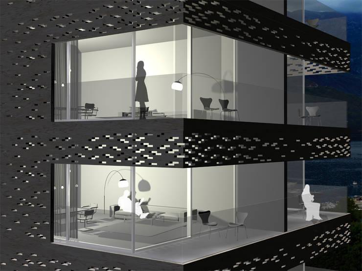Hackenbroich Architekten:  tarz Teras