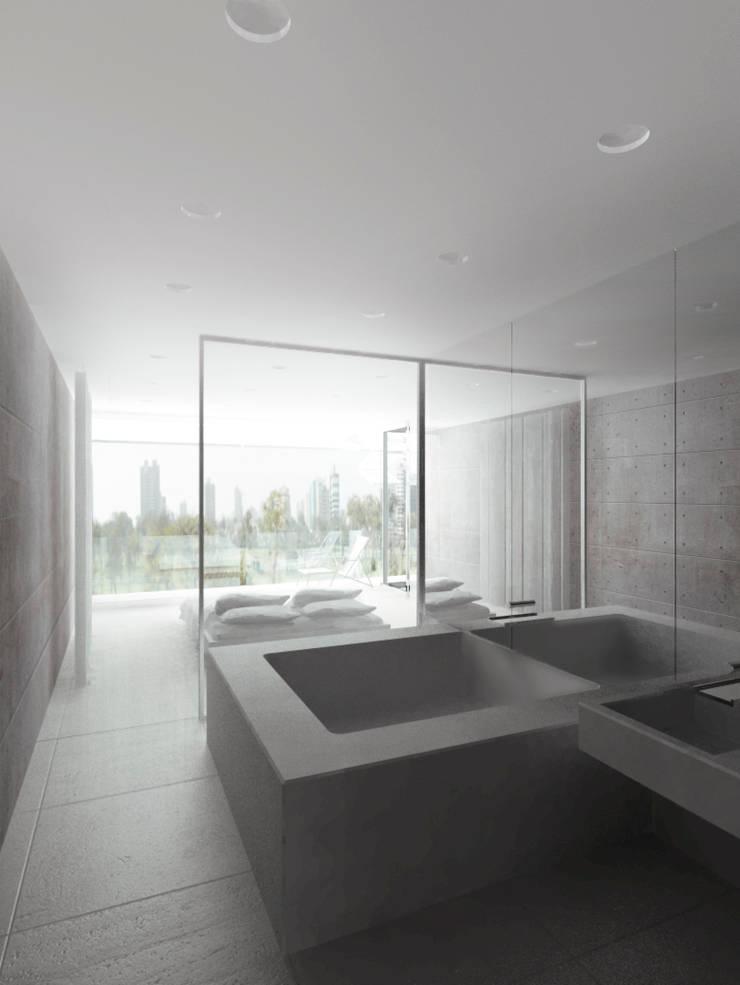 Bagno in stile  di Hackenbroich Architekten