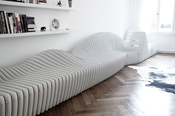 Sala de estar  por Hackenbroich Architekten