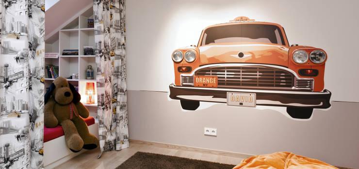 Dormitorios infantiles de estilo ecléctico de schulz.rooms