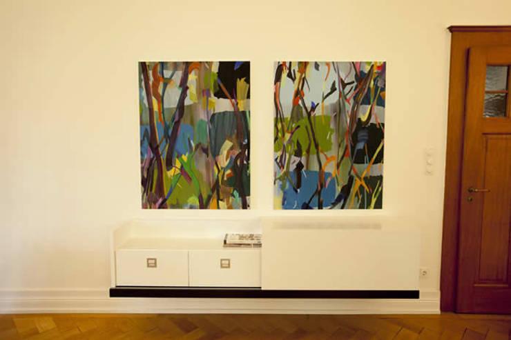 Ingresso, Corridoio & Scale in stile  di Tatjana von Braun Interiors