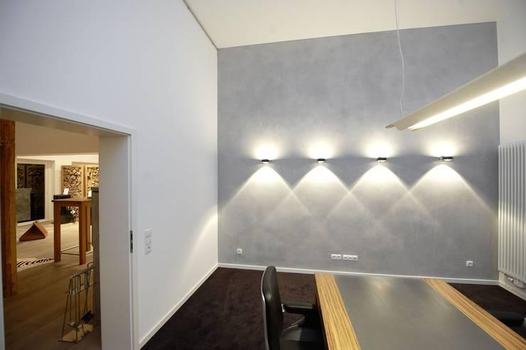 Ceamentum Art Putz in Beton Optik:  Arbeitszimmer von Wandkult,Modern