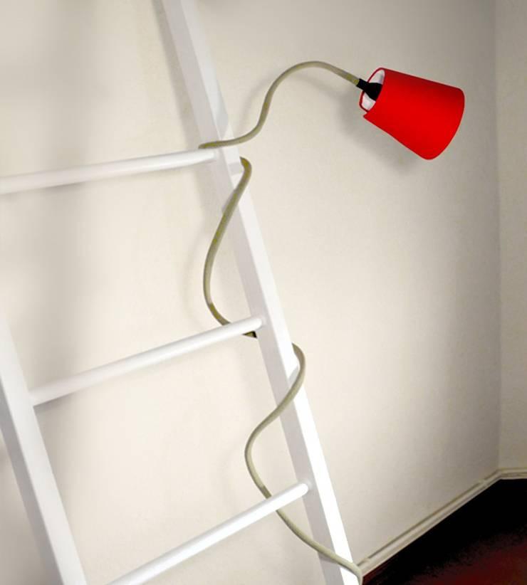 Clibing Lamp:  Wohnzimmer von Design. Nachhaltig. Gut.,