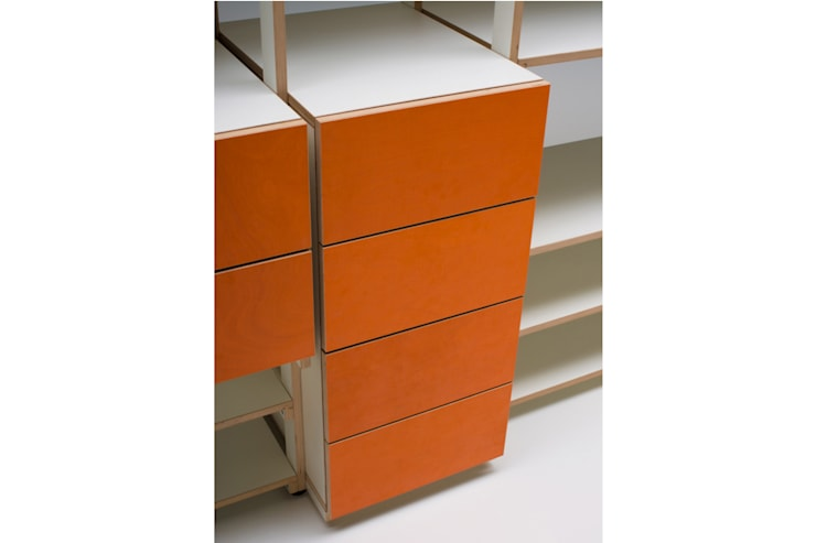 RD 02 Regalsystem: industriale Wohnzimmer von Rohstoff Design
