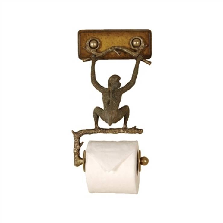 """Maitland Smith Toiletenpapierhalter """"Affe"""":  Badezimmer von Sweets & Spices Dekoration und Möbel"""