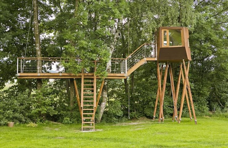 Maisons de style  par Andreas Wenning dipl.-ing. Architekt