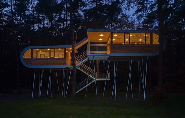 the treehouse:  Häuser von Andreas Wenning dipl.-ing. Architekt