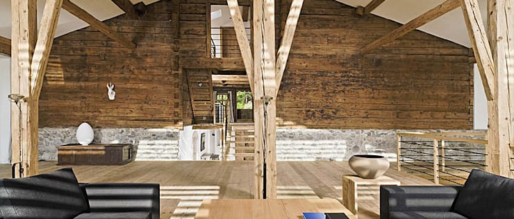 GALLIST ARCHITEKTEN GmbH:  tarz Oturma Odası
