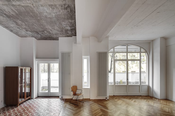 Salas de estar industriais por marc benjamin drewes ARCHITEKTUREN