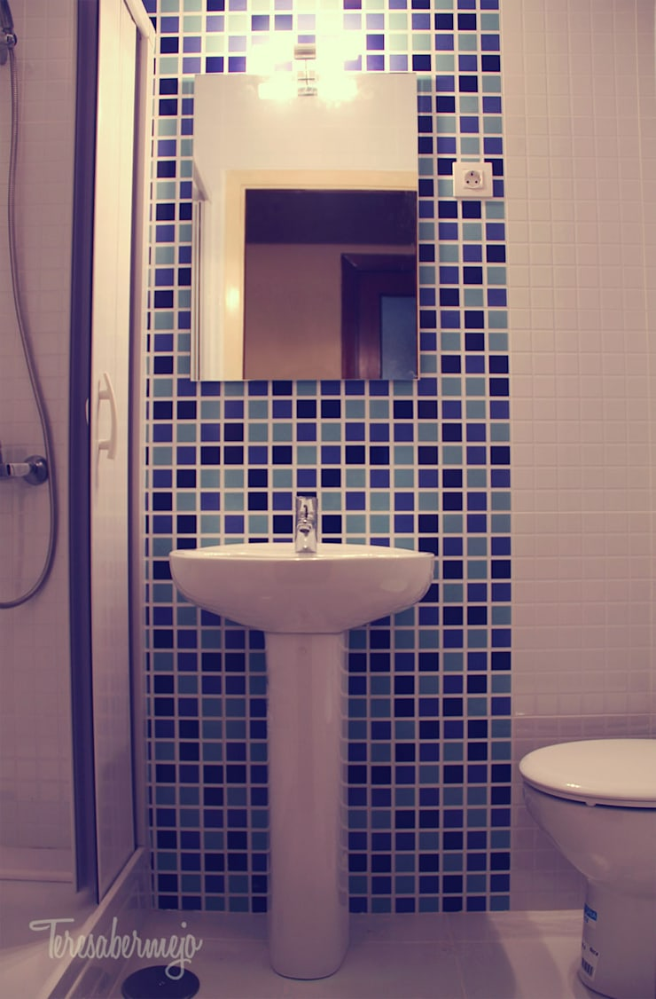 Bathroom by  Diseñadora de Interiores, Decoradora y Home Stager