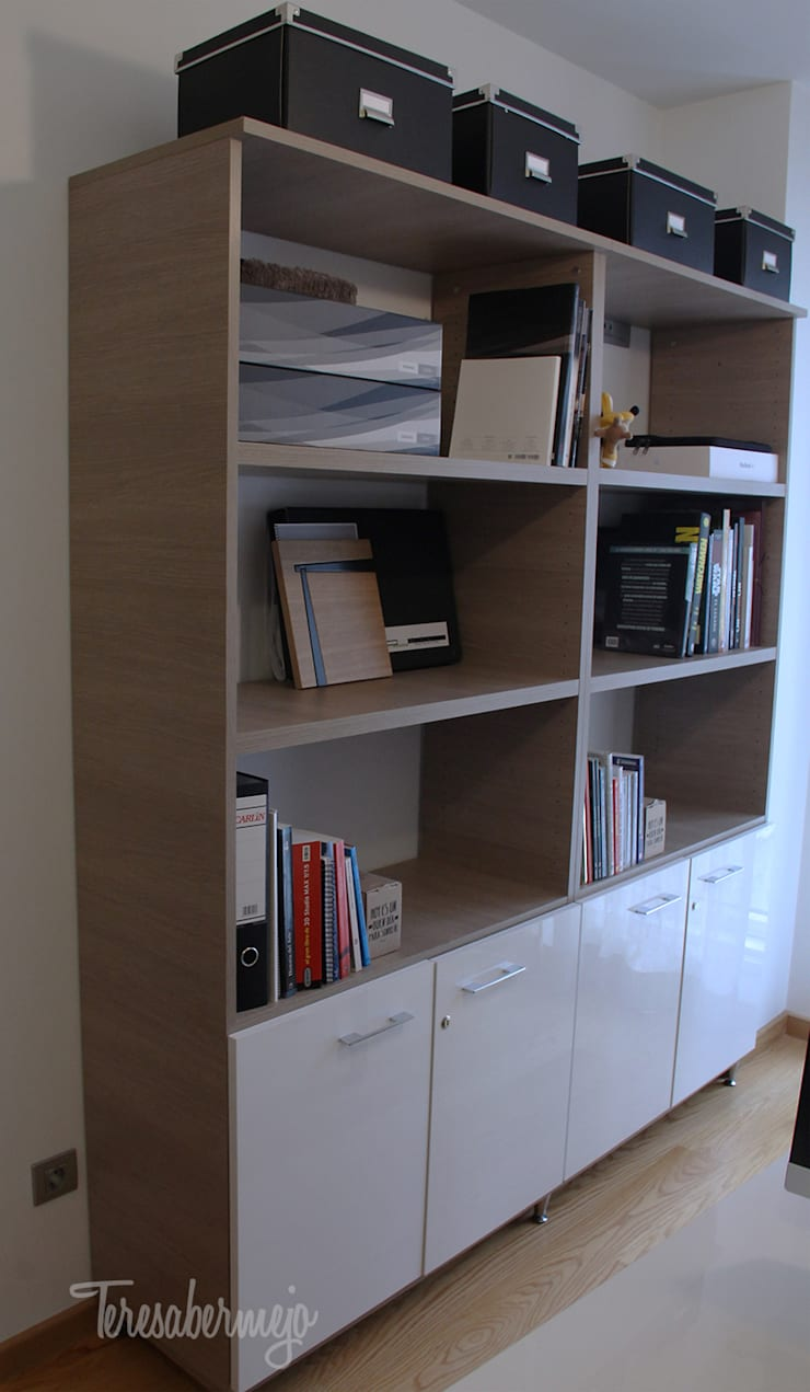 Diseñadora de Interiores, Decoradora y Home Stagerが手掛けた書斎
