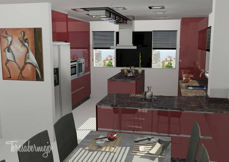 La cocina de Lino: Cocinas de estilo  de  Diseñadora de Interiores, Decoradora y Home Stager