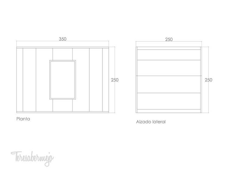 Oval Space para Gandía Blasco: Jardín de estilo  de  Diseñadora de Interiores, Decoradora y Home Stager