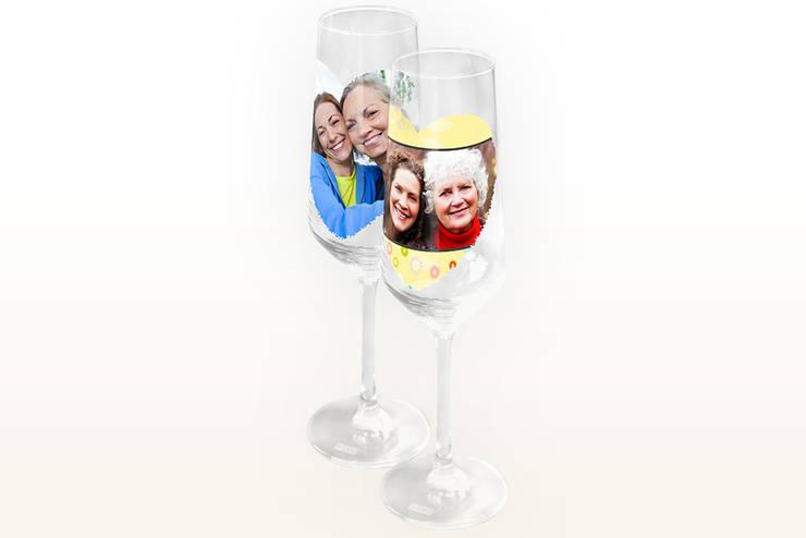 Sektglas mit Foto:  Haushalt von fotokasten GmbH