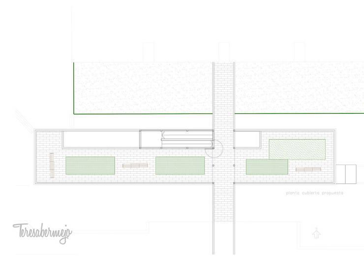 Biblioteca Barrio de las Flores: Oficinas y Tiendas de estilo  de  Diseñadora de Interiores, Decoradora y Home Stager