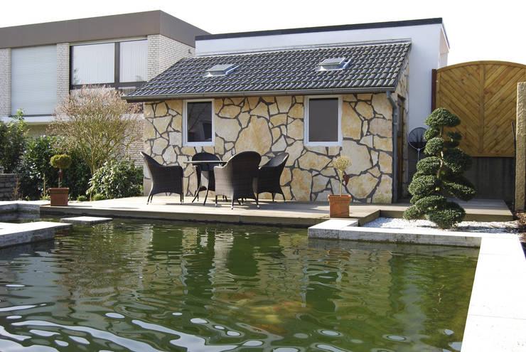 Estanques de jardín de estilo  por Stein/Garten/Design e.K
