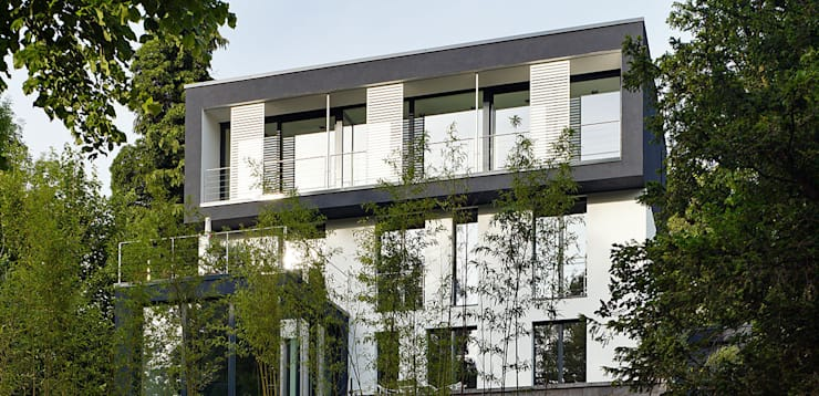 modern Houses by A-Z Architekten