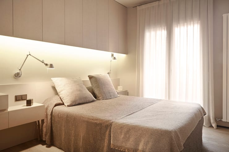Bedroom by Coblonal Arquitectura