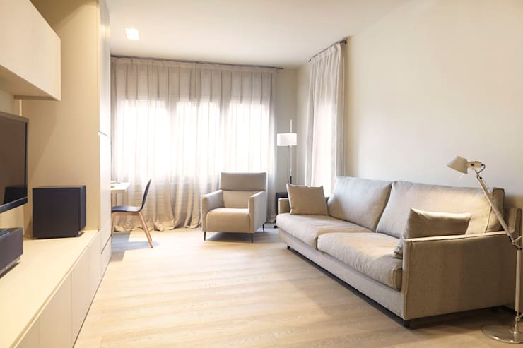 Coblonal Arquitectura:  tarz Oturma Odası