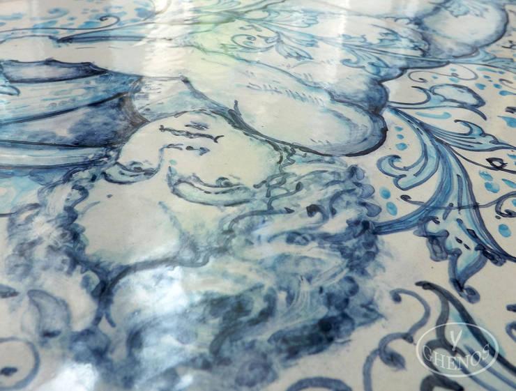 """Rosa azul"": Pareti & Pavimenti in stile  di ghenos"